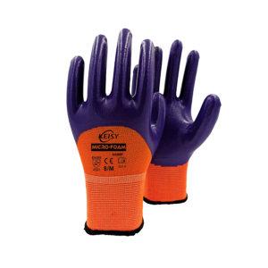 KEISY/凯思亿 尼龙丁腈3/4涂层手套 NNHF M 1副