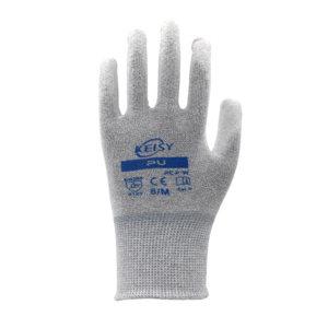 KEISY/凯思亿 碳纤维PU掌涂工作手套 PCP-W M 1副