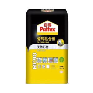 PATTEX/百得 玻化砖粘合剂 MC90 20kg 1袋