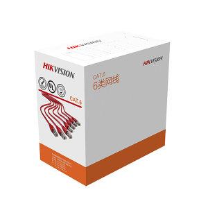 HIKVISION/海康威视 DS-1LN系列6类网线 DS-1LN6-UE 橙色 长305m 1箱