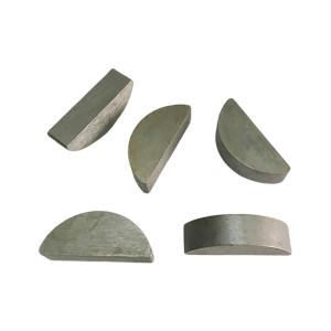 XC/新成 GB1099.1 普通型半圆键 碳钢Q235 本色 34026100202-600000 2×2.6×7 1百个