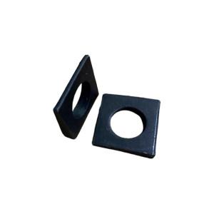 XC/新成 GB853 槽钢用方斜垫圈 碳钢Q235 发黑 340077014000000100 φ14 1百个