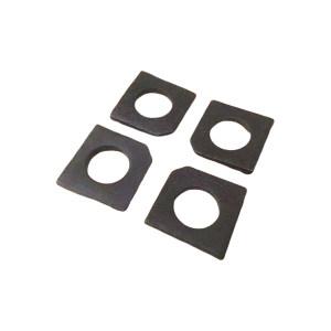 XC/新成 GB852 工字钢用方斜垫圈 碳钢Q235 发黑 340076024000000100 φ24 1百个