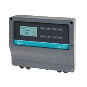 B&C/匹磁 余氯/臭氧多通道变送器 CL6587.103 200.0ppb-μg/L 2.000/20.00/200.0/2000PPM-mg/L           0~14.00pH -2000~2000mV 1台
