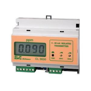 B&C/匹磁 余氯/臭氧变送器 CL3630 0~2.000PPM 0~20.00PPM 1台
