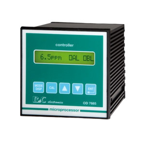B&C/匹磁 溶解氧变送器 OD7685 0~200.0/mmHg/0~200%空气饱和度/0~20.00PPM/0~20.00mg/L 1台
