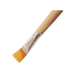 ZKH/震坤行 油画笔 7号 原木色 笔杆颜色深浅不固定 尼龙材质 1支