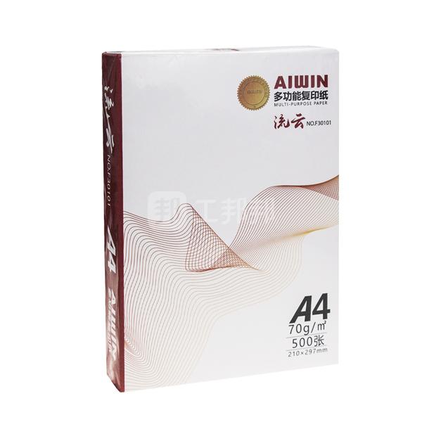 AIWIN A4复印纸 F30101 70g 白色 500张 1包