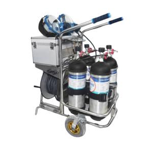 HAIGU/海固 车载型空气呼吸器 CHZK4/6.8F/30 6.8L 四瓶 1套