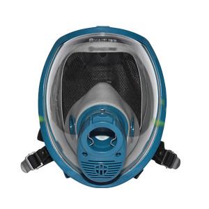 HAIGU/海固 正压式空气呼吸器全面罩 HG-800A 宝蓝灰 适配海固空呼 1个