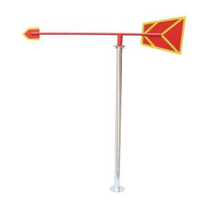 XIANGCHEN/襄辰 风向标 长1200mm 立杆150cm 1个