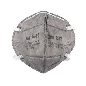 3M 折叠式有机蒸气异味及防颗粒物口罩 9542 KN95 头戴式 1个